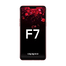 F7- 4GB Ram- 4G- Dua lSim- Red- 64GB Rom- 16MP- Android 8.1- 6.23'' FHD+ Screen- Octa-core.