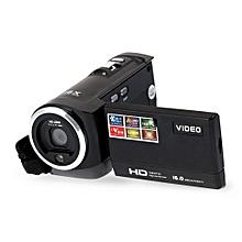 HDV-107 Digital Video Camcorder Camera HD 720P 16MP DVR 2.7'' TFT LCD Screen 16x-Black