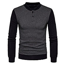 bluerdream-Mens' Autumn Winter Long Sleeve Sweatshirt Tops Jacket Coat Outwear -Dark  Gray