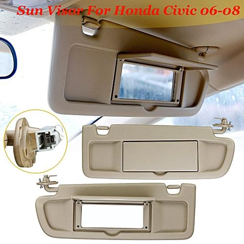 Generic Front Left Right Driver Side Sun Visor For Honda Civic 2006-08   83280-SNA-A01ZA 8b8db4c09ce