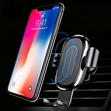Baseus WXYL B09 Fast 10W Qi Wireless Charger Mount Holder for iPhone X 8 Plus S8 + S9