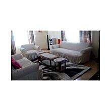 Sofa Seat Covers – 3+2+1+1   – Cream