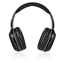 W806BT On-ear Stereo Music Headband Headset-BLACK