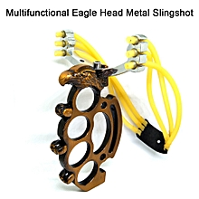 Catapult Slingshot Practical Eagle Shape Champagne Outdoor