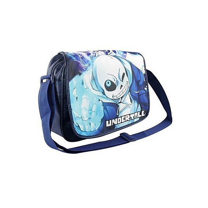 73b2c19fcb Cartoon School Bags Children Daily Satchel Game Undertale San Printing  Messenger Bag For Teenagers Boy Girls
