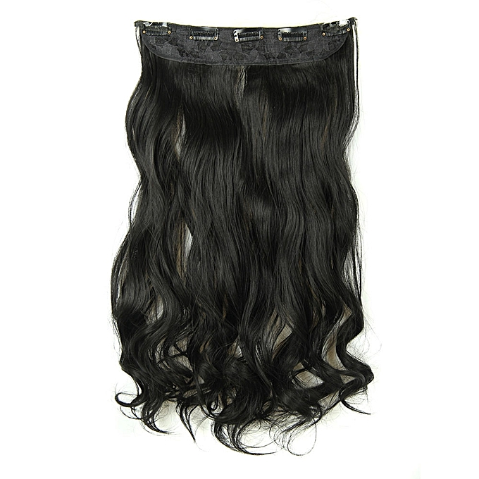 Buy Zlime 5pcs Clip False Hair Synthetic Hair Extension Curly Heat