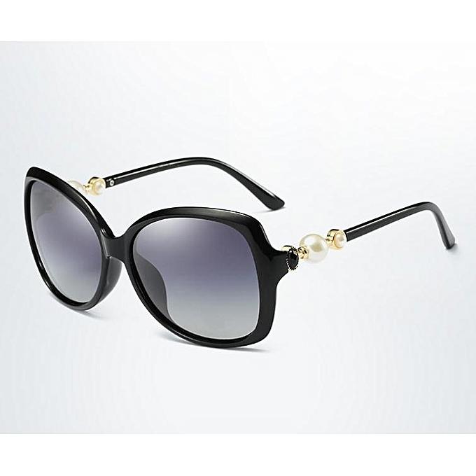 New Classic Pearl Sunglasses Black Ladies Nice Polarized TliOXuwPkZ
