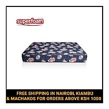 High Density Quilted Foam Mattress - Multicolored