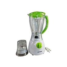 2 in 1 Blender with Grinder - 1.5 L - White & Light Green