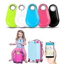 ITag ITracing ISearching Mini Smart Finder Bluetooth Tracer Pet Child GPS Locator Tag Alarm Wallet Key Selfie Shutter Blue