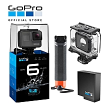"GOPRO HERO6 / HERO 6 BLACK ""GO DIVING"" KIT WITH EXTRA BATTERY + SUPERSUIT + HANDLER () WWD"