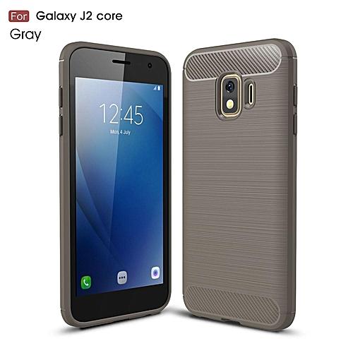 san francisco 86b8e 48922 For Galaxy J2 Core Case,Flexible TPU Bumper Slim Fit Case Carbon Fiber  Design Lightweight Shockproof Back Cover For Samsung Galaxy J2 Core/SM-J260G