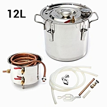 Ethanol Water Copper Home Alcohol Distiller Moonshine Still