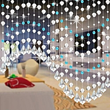 Crystal Glass Bead Curtain Luxury Living Room Bedroom Window Door Wedding Decor