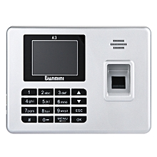 Danmini A3 Self-service Fingerprint Machine with Voice Prompt SILVER US PLUG