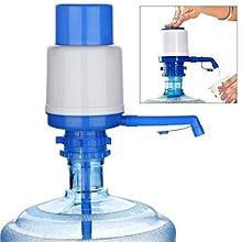 Drinking Water Hand Press Pump/ Water Dispenser - White & Blue