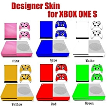 Designer Skin For XBOX ONE S Gaming Console+2 Controller Sticker Decal
