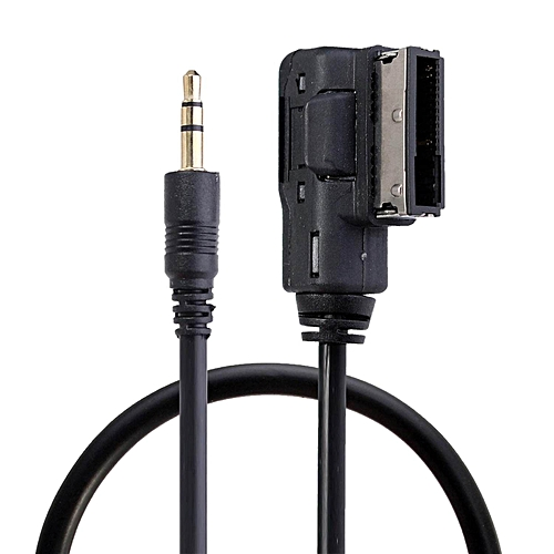 Music Interface AMI MMI 3 5mm Jack Aux-IN MP3 Cable For Audi A3/A4/A5/A6/A8  Lead WWD