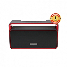 MP-25 Mini Wireless Portable Bluetooth Speaker With FM Radio - Black