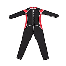 2mm Neoprene One Piece Wetsuit For Kids Children Surfing Snorkeling Scuba Diving   Red#8