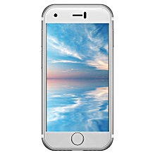 """7S 2G Smartphone 2.54"""" 1GB RAM 8GB ROM Android 6.0 Dual Cameras - SILVER"""