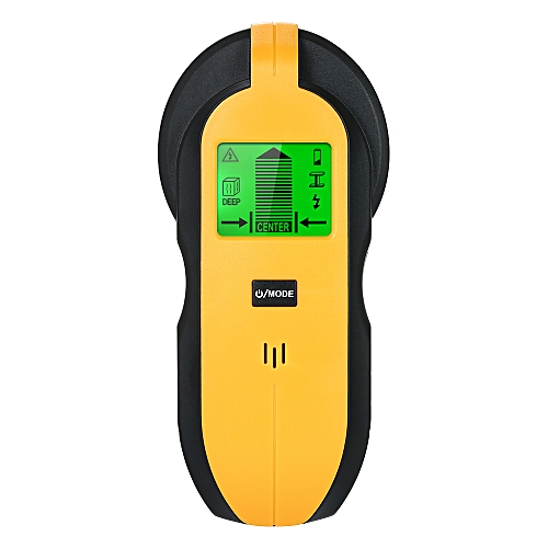 Stud Finder Wall Detector 4 in 1 Sensor Wall Scanner with Large LCD Digital  Wood Center Finding Metal Studs and AC Cable Live Wire Scanner Warning