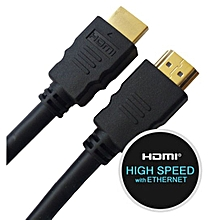 HDMI High Speed With Ethernet Cable 3M