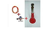 6kg Gas Regulator Plus FREE Gas Delivery Pipe  (for 6Kg Gas Cylinder) plus gas lighters