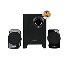 A120 - 2.1 PC Speakers with Subwoofer - Black