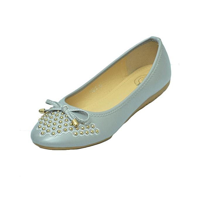 b2d7a9f8c2d63 Impala Grey flat shoes   Best Price