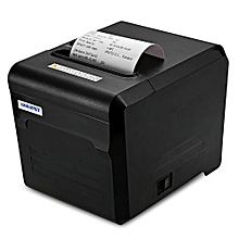 JP80A Thermal Receipt Printer With USB LAN Serial Port 80mm Portable Machine