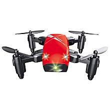 S9 Micro Foldable RC Quadcopter RTF 2.4GHz 4CH 6-axis Gyro - Red