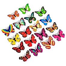 Color glowing Butterfly Home Room Desk Wall Decor