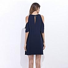 Summer Loose Chiffon Dress Style Women Casual Sundress Clothing Hollow Dress