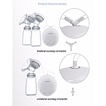 Double Electric Breast Pump With Milk Bottle