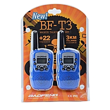 Baofeng walkie talkie 2 x Mini Baofeng T3 BF-T3 BFT3 Walkie Talkie Portable Two-Way Radio Handheld Dual Band 20 Channels (2pcs)
