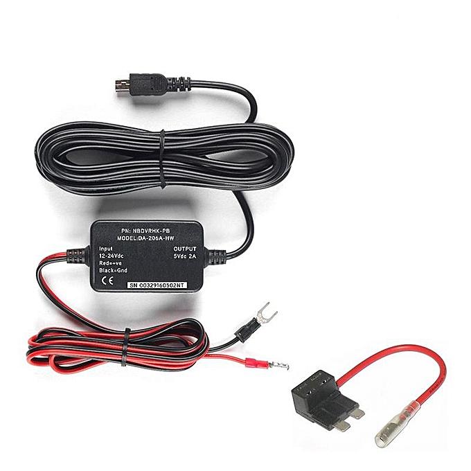 Hard Wire Kit Car Dash Cam Camera 101 112 212 302 312 402G 412 512 Hard Wiring Dash Cam on