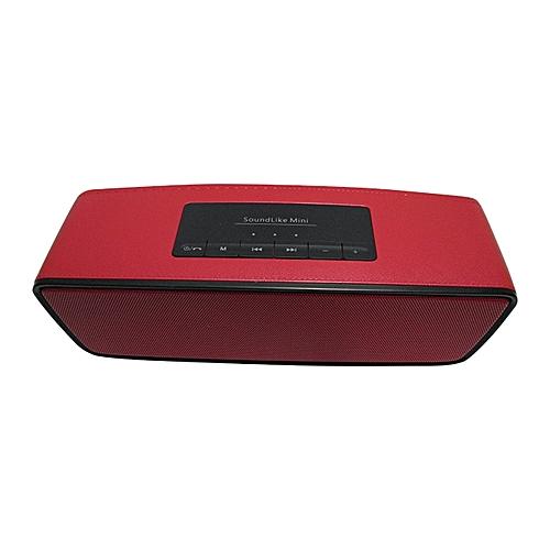 Bluetooth Soundlike S2025 Portable Wireless Speaker - Red
