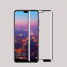 MOFI for Huawei P20 Pro 0.3mm 9H Surface Hardness 3D Curved Edge Tempered Glass Screen Protector(Black)