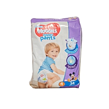 Pants Boy Size 4, Weight 4 9/14 Kg 34s