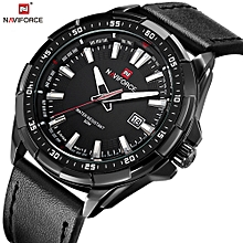 92dffefeb Mens Top Luxury Fashion Sport Watches Men Waterproof Quartz Clock Male Army  Military Leather Wrist Watch