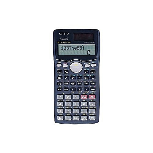 FX-991ms 2-Line Display Scientific Calculator with Solar Panel