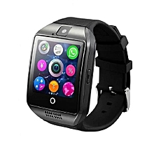 Q18 Bluetooth Smart Watch - Black and Silver