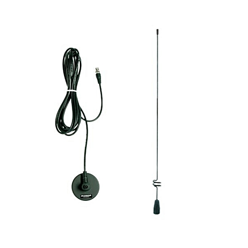 Diamond Mobile Whip Magnetic Base Antenna MC-100 with cutting chart with  2 15dB gain