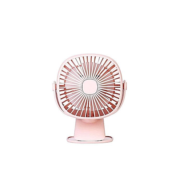 OrzBuy Square Box Night Light Mini Fan, 360 Degree Fan, Mini Handheld Fan,  Portable USB Rechargeable Student Dormitory Office Shake Fan Desktop Family