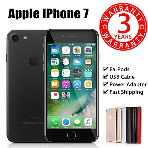 Apple iPhone 7 128GB EAR PODS/USB Cable/Power Adapte