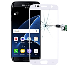 For Samsung Galaxy S7 / G930 0.26mm 9H Surface Hardness Explosion-proof Silk-screen Tempered Glass Full Screen Film (Silver)