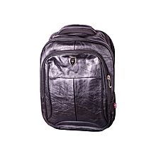 "15.6"" Laptop Bag-Leather Finish-Black"