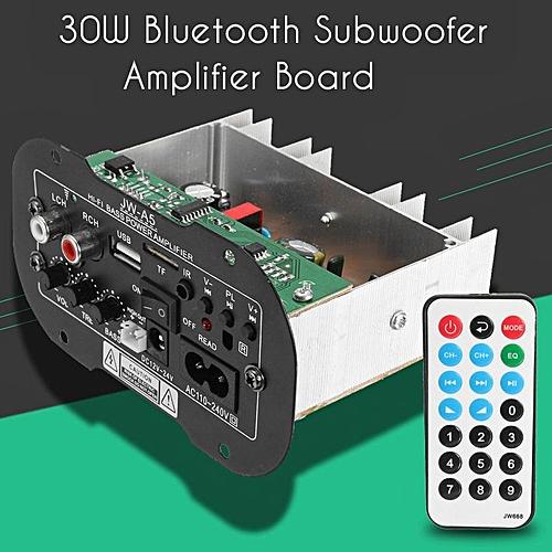 Generic Universal 30W Bluetooth Car Subwoofer Hi-Fi Bass
