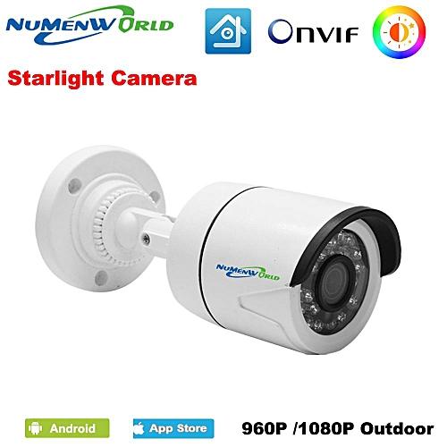 Starlight Full HD 960P 1080P Outdoor IP Camera Intelligent Infrared  Surveillance Camera IP ONVIF Motion Detection Email Alert(960P) WKMALL